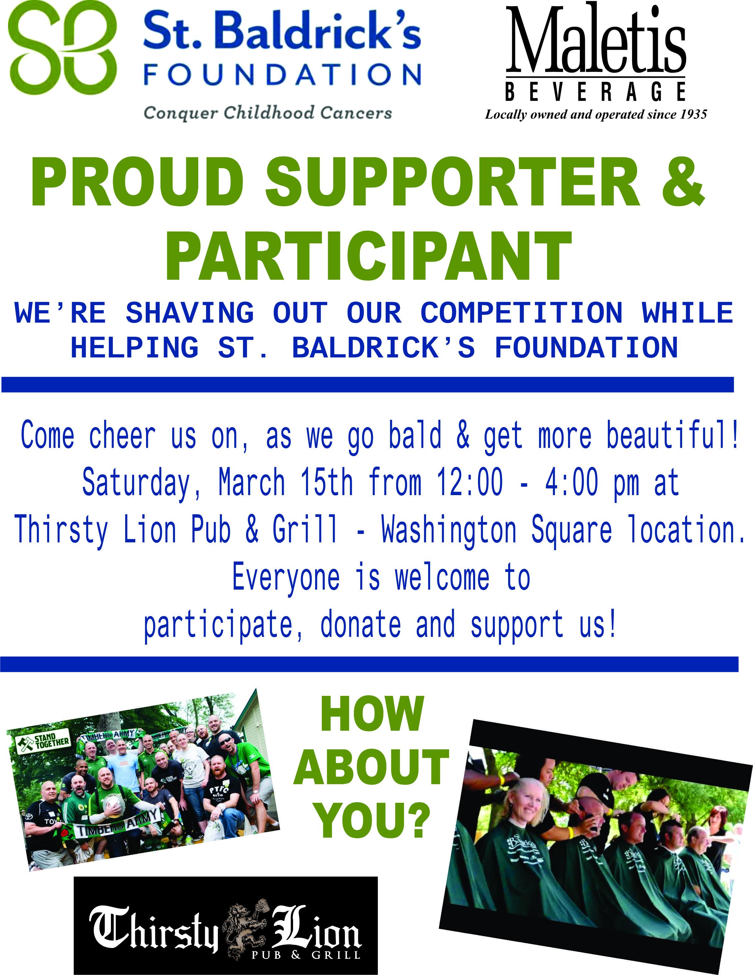 8 5x11 St  Baldricks Event Flyer 2014