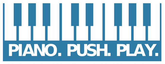 Piano. Push. Play.